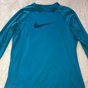 Blue Nike Long sleeve